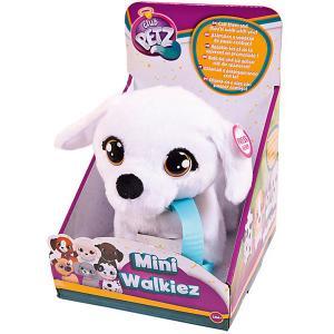 Инерактивный щенок  Club Petz Mini Walkiez Bichon IMC Toys. Цвет: белый