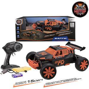Радиоуправляемый Багги  Чемпион, черно-оранжевый Пламенный мотор. Цвет: оранжевый/черный