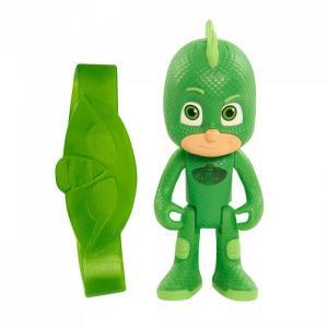 Игровой набор фигурка Гекко 8 см со светом и браслет Герои в масках (PJ Masks)