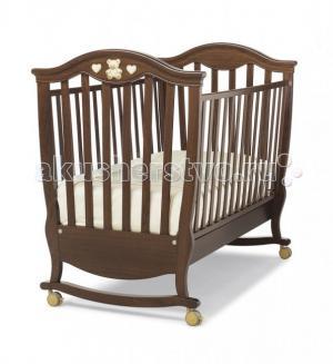 Детская кроватка  Brigette качалка Erbesi