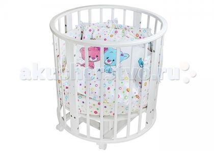 Комплект в кроватку  Котята (19 предметов) Idea Kids