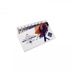 Краски масляные 8 цветов Мастер-Класс, 18мл/туба Невская палитра