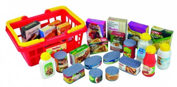 Игровой набор Корзина с продуктами 22 предмета Red Box
