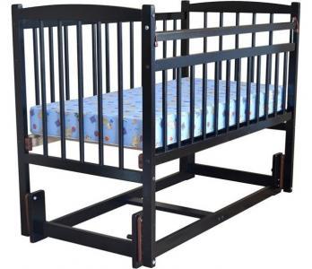 Детская кроватка  Беби 3 маятник продольный Массив