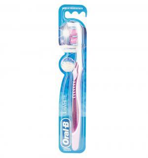 Зубная щетка  3D White средняя жесткость Oral-B