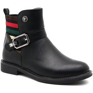 Ботинки М+Д. Цвет: черный