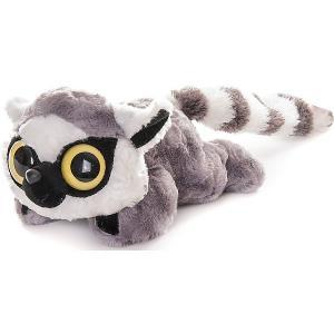 Мягкая игрушка  Юху и друзья Лемур Лемми лежачий, 16 см AURORA