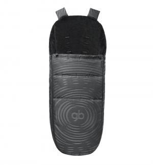 Накидка на ножки  Maris Plus Lux Black, цвет: черный GB