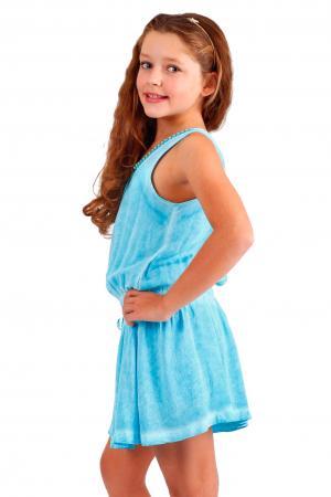 Платье , цвет: бирюзовый Gulliver