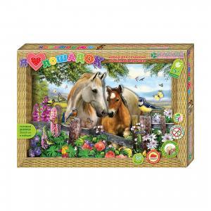 Набор для изготовления картины Я люблю лошадок Клевер