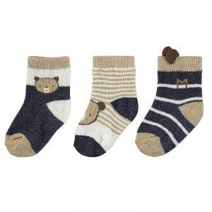 Newborn Носки для мальчика 3 пары 9424 Mayoral