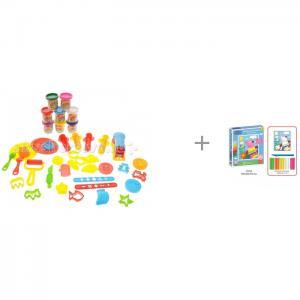 Креативный пластилин и Картина из пластилина Прогулка Пеппы Bradex