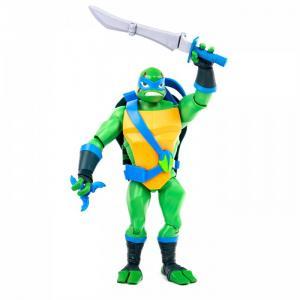 Фигурка Черепашки-ниндзя Лео с панцирем для хранения оружия 27 см Playmates TMNT
