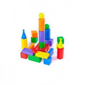 Развивающая игрушка  Строительный набор Стена-2 25 элементов СВСД