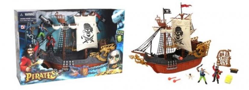 Игровой набор Пиратский корабль Chap Mei