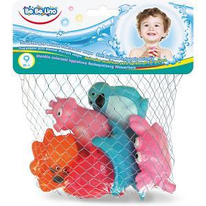 Игрушки для ванной ToysLab Bebelino Обитатели моря Toys Lab. Цвет: разноцветный