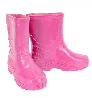 Резиновые сапоги , цвет: розовый Каури