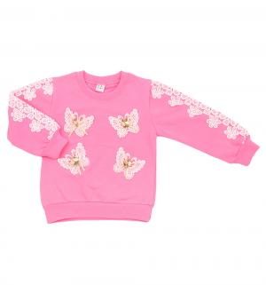 Джемпер , цвет: розовый Bony Kids