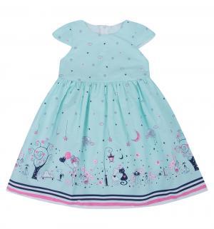 Платье , цвет: голубой Малинка