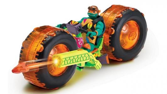 Мотоцикл с фигуркой Майки Playmates TMNT
