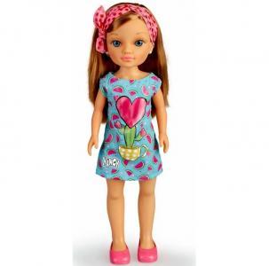 Кукла Нэнси модница в голубом платье Famosa