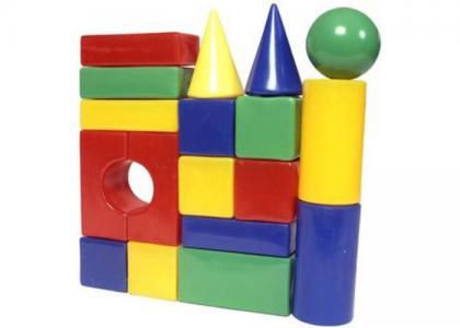 Развивающая игрушка  Строительный набор Стена-2 18 элементов СВСД