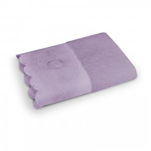 Полотенце махровое 70*140 Жаклин, , лиловый Cozy Home