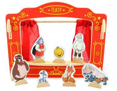 Деревянная игрушка  Кукольный театр Д170 Мир деревянных игрушек