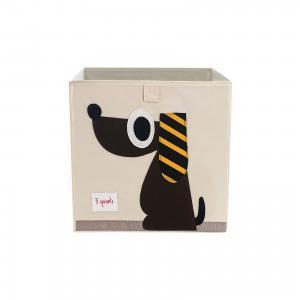 Коробка для хранения  Собачка 3 Sprouts. Цвет: коричневый