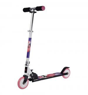 Скутер  Wow Animals, цвет: фиолетовый/розовый X-match
