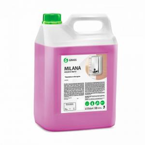 Жидкое крем-мыло Milana черника в йогурте 5 кг Grass