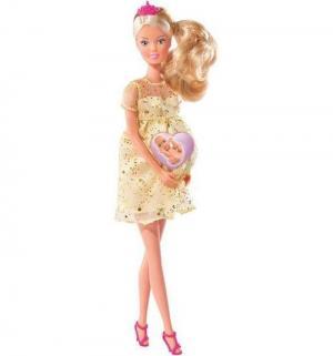 Кукла  Беременная Штеффи с люлькой 29 см Steffi