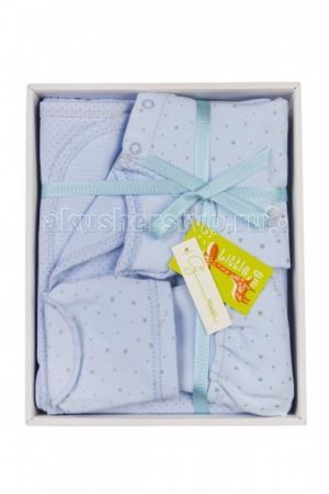 Комплект на выписку  для новорожденного 7304 (4 предмета) Little me
