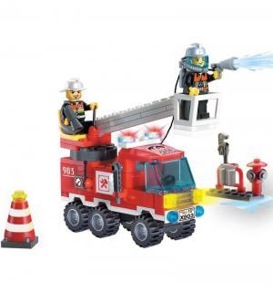 Конструктор  Пожарная машина (130 дет) Brick