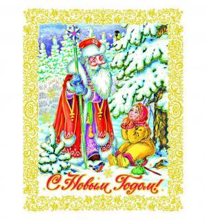 Наклейка  Морозко Яркий Праздник