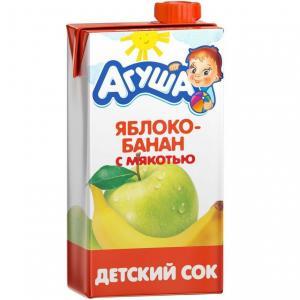 Сок  яблоко-банан, 500 мл Агуша
