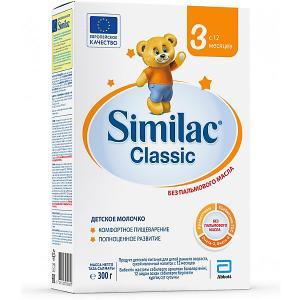 Молочная смесь  Classic 3, с 12 мес, 300 г Similac