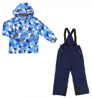 Комплект куртка/полукомбинезон , цвет: голубой/синий Kalborn