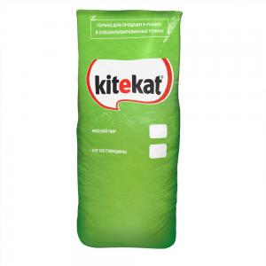 Сухой корм  Телятинка аппетитная для взрослых кошек, телятина, 15кг Kitekat