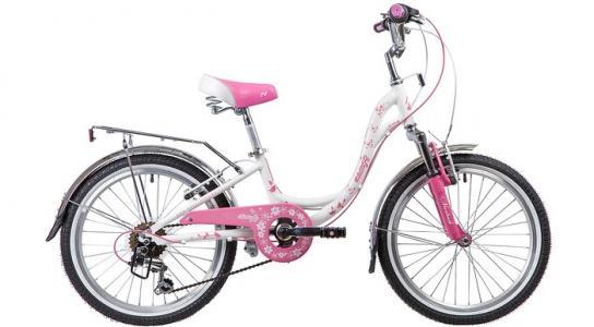 Велосипед двухколесный  Butterfly 6 скоростей TY21/RS35/SG-6SI V-brake 20 Novatrack