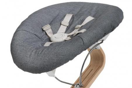Кресло-шезлонг Baby для стула Nomi (основание белое) Evomove