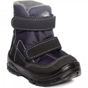 Утепленные ботинки Alaska Originale. Цвет: синий