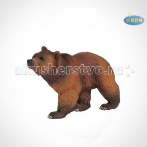 Игровая реалистичная фигурка Бурый медведь Papo