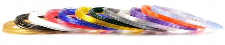 Комплект пластика PRO для 3Д ручек (12 цветов) Unid