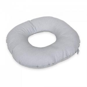 Подушка-круг послеродовая White mini dots Ceba Baby