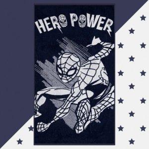 Полотенце махровое Hero power Человек Паук 130х70 Marvel