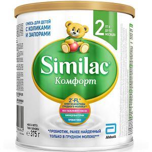 Молочная смесь  Комфорт 2, с 6 мес, 375 г Similac