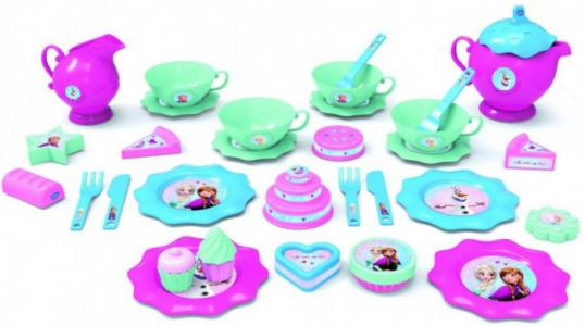Игровой набор посуды для чая Холодное сердце большой Bildo