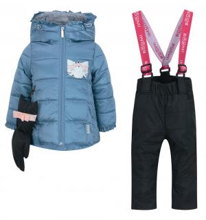 Комплект куртка/полукомбинезон , цвет: голубой Boom By Orby