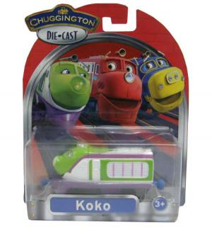 Паровозик  Коко Chuggington